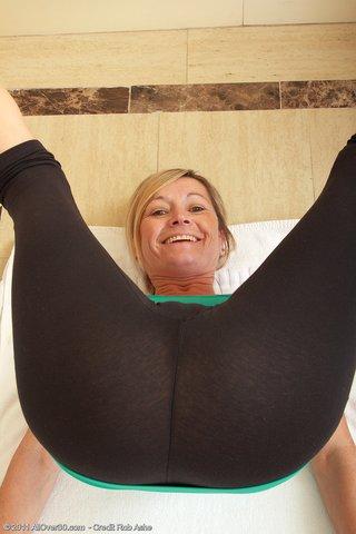 mature yoga