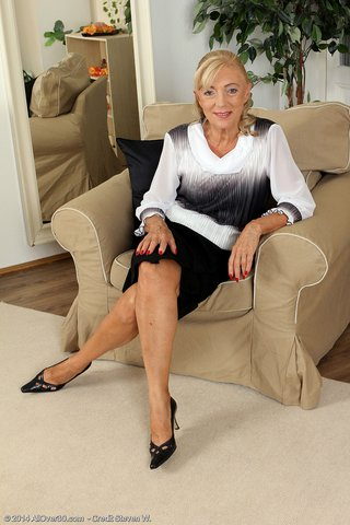 blonde hot mature granny