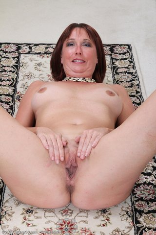 slender beautiful mature