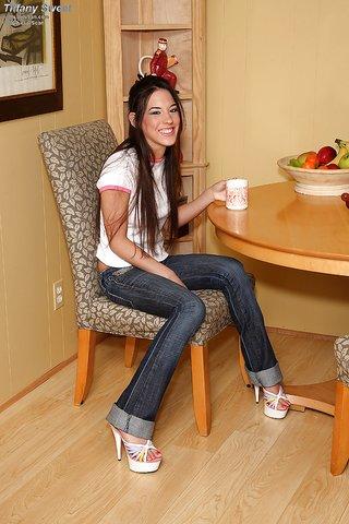 seductive jeans teen