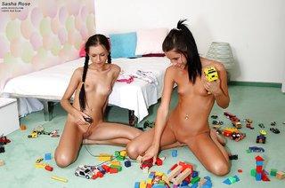 skinny russian lesbian
