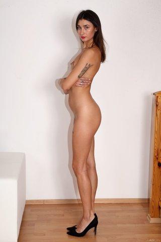 small tits tall skinny