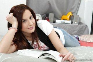 russian stunning teen brunette