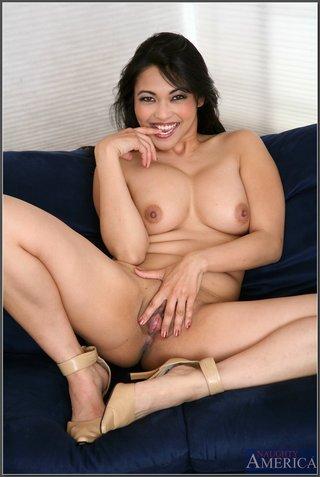 american asian ass brunette