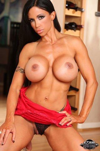 american big tits models