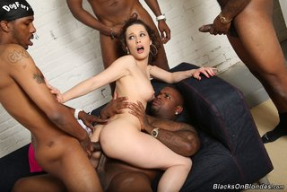 french interracial double penetration