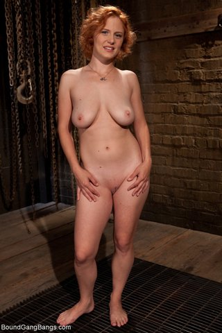 submissive skinny blonde