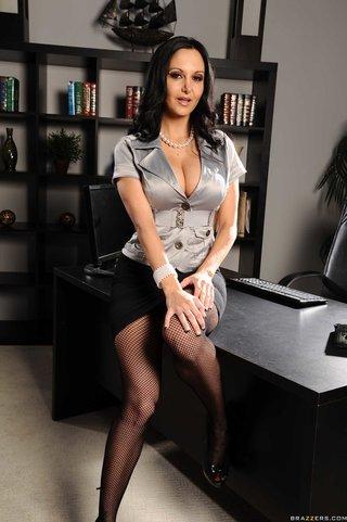 attractive big tit secretary