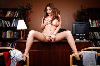 stripping voluptuous latina