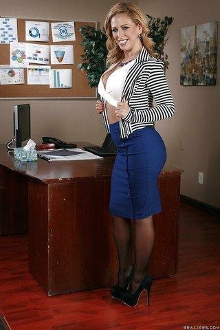 secretaria americana escritorio