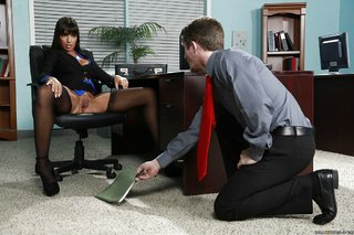 american latina office seduction