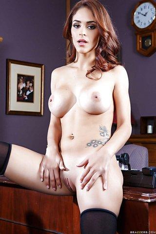 american naked latina