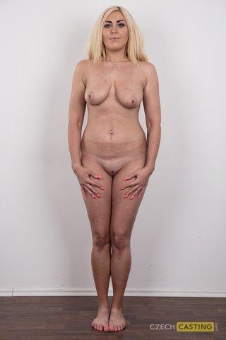blonde super model casting