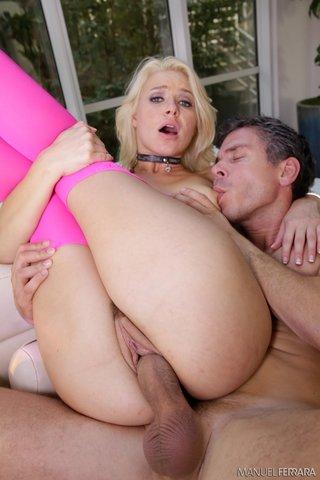blonde natural stockings