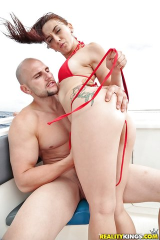 american latina anal boat
