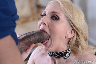 american interracial blonde milf
