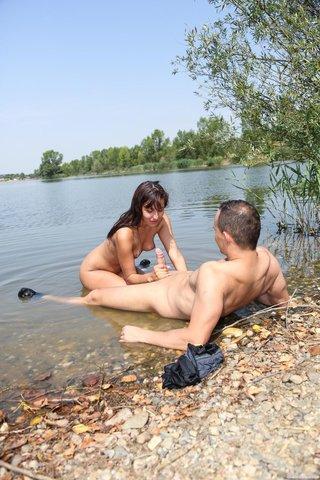 european teen facial couple