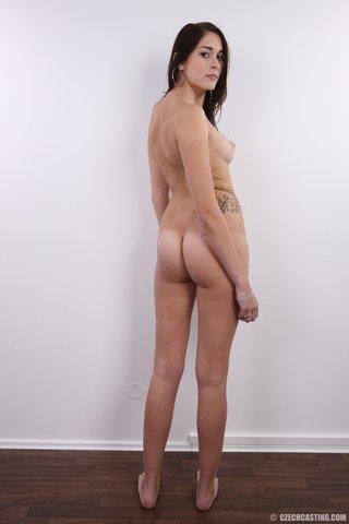 european young brunette amateur