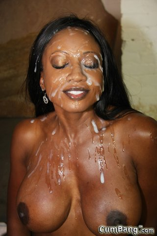 interracial drenched