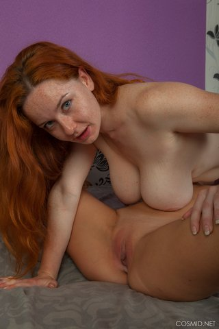 saggy tits redhead lesbian