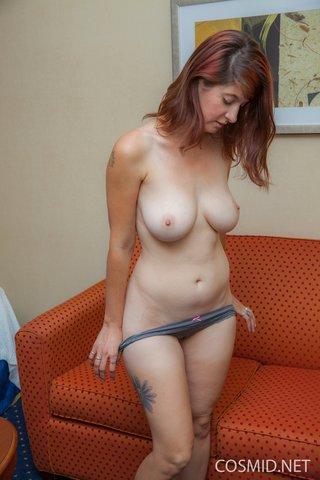 american stripping amateur redhead