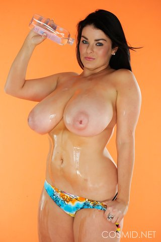 british big tits oil