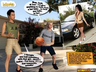 comic shows breasty slut