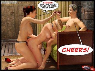 kinky brunette whips slave