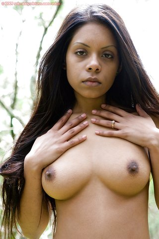 exotic natural tits brunette
