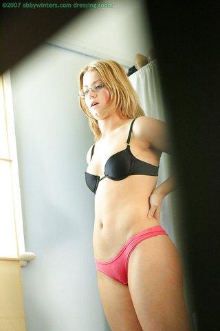 blonde natural lingerie