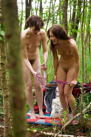 lesbian naked ass