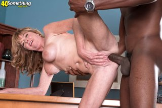 american interracial mature housewife