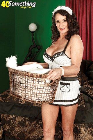 american uniform mature housewife